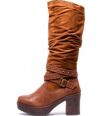 bota nancy camel chancleta