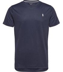 tee tomlin tomlin t-shirts short-sleeved blå björn borg