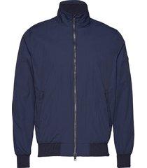 nylon jacket - grs bomberjack jack blauw knowledge cotton apparel