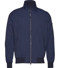 basswood jacket bomberjack jack blauw knowledge cotton apparel