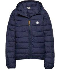 puffer jacket gevoerd jack blauw timberland