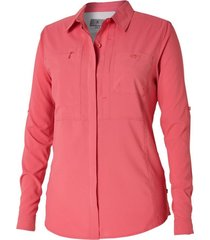 blusa expedition chill rosa royal robbins by doite