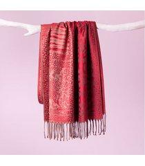 lenço flamenco cor: vermelho - tamanho: único