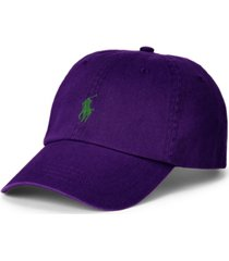 polo ralph lauren men's cotton chino ball cap