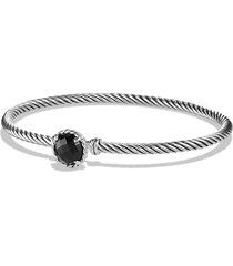 david yurman 'color classics' bangle bracelet, size medium in black onyx at nordstrom
