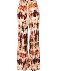 nanushka giado tie-dye wide-leg trousers - multicolour