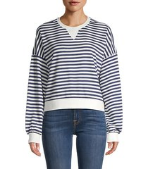 slate striped sweatshirt
