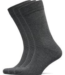 slh3-pack cotton sock noos underwear socks regular socks grå selected homme