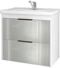 gabinete suspenso para banheiro lavanda 56x59cm branco