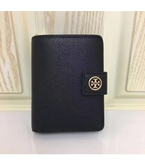 nwt tory burch robinson french fold wallet