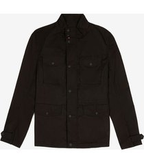 cotton canvas field jacket black 54