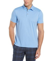 men's ultra soft touch slub short sleeve polo shirt