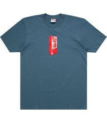 supreme payphone t-shirt - blue