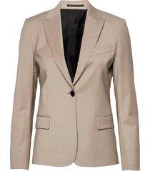 sasha cool wool blazer blazers business blazers beige filippa k