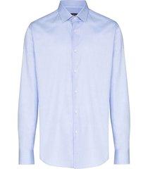 boss jesse formal shirt - blue