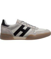 scarpe sneakers uomo in pelle h357