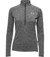 new tech 1/2 zip sweat-shirt tröja grå under armour