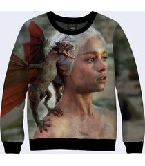 2017 game of thrones dragon mother daenerys targaryen 3d simbol sign sweatshirt