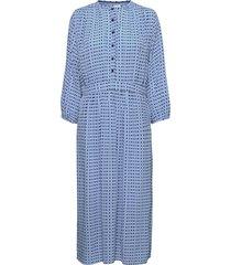 dress long sleeve maxiklänning festklänning blå noa noa