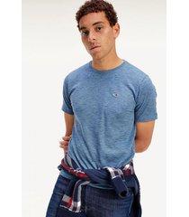 polera essential de punto azul tommy jeans