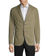standard-fit stretch cotton twill sport jacket