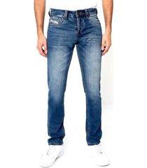 skinny jeans true rise regular fit broeken a
