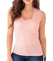 blusa hadid rosa para mujer croydon