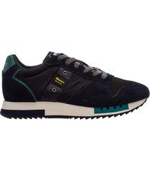 scarpe sneakers uomo camoscio queens