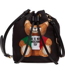 borsa donna a mano tracolla teddy bear