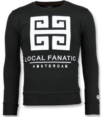sweater local fanatic greek border leuke z