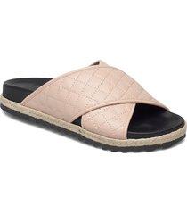 espadrilles 2652 sandaletter expadrilles låga rosa billi bi