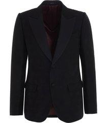 gucci gg diagonal blazer