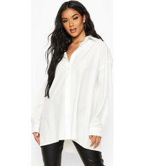 extreme oversized blouse, wit
