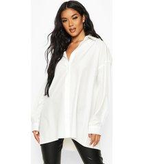 extreme oversized blouse, wit