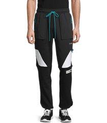 puma men's parquet sweatpants - black - size xl