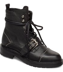 heaven shoes boots ankle boots ankle boot - flat svart pavement