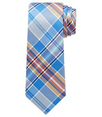 traveler collection bold plaid tie - long clearance