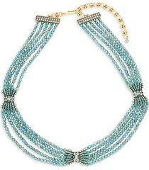 grecian crystal rhinestone necklace