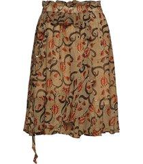 astonish knälång kjol creme munthe