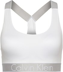 calvin klein bralette unlined wit, medium