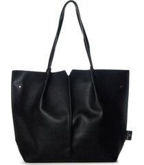 cartera negra xl extra large linda tote