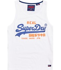wit superdry m60111tt 01c tank top