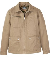 giacca militare in look usato (beige) - rainbow