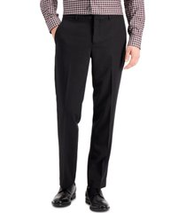 perry ellis portfolio men's modern-fit stretch solid resolution pants