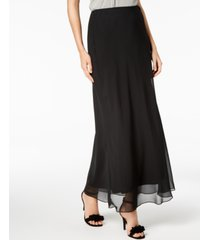 alex evenings maxi skirt, regular & petite sizes