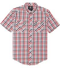 ecko unltd men's tonal yd check woven shirt