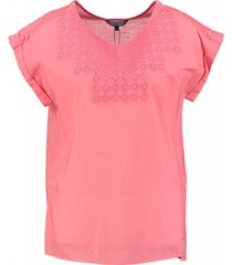 tommy hilfiger blouse shirt koraal