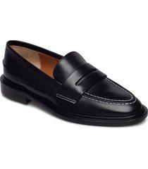 monti black vacchetta loafers låga skor svart atp atelier