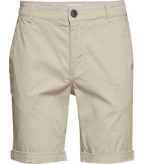 slhstraight-paris shorts w noos shorts chinos shorts grå selected homme
