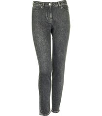 fabiana filippi denim trousers - grey